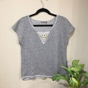BOGO FREE Suzy shier medium knit short sleeve EUC